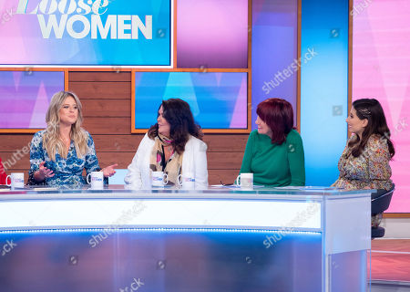 Emily Atack, Kate Robbins, Janet Street-Porter and Stacey Solomon