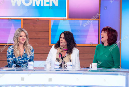 Stock Image of Emily Atack, Kate Robbins, Janet Street-Porter and Stacey Solomon