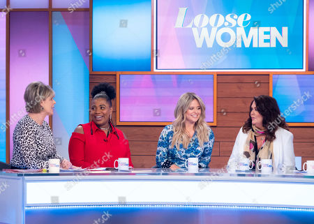 Editorial picture of 'Loose Women' TV show, London, UK - 27 Mar 2019