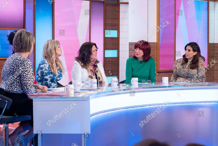 Editorial photo of 'Loose Women' TV show, London, UK - 27 Mar 2019