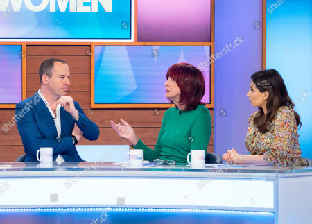 Martin Lewis, Janet Street-Porter and Stacey Solomon