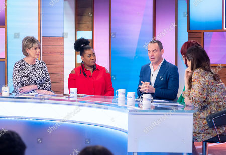 Ruth Langsford, Brenda Edwards, Martin Lewis, Janet Street-Porter and Stacey Solomon