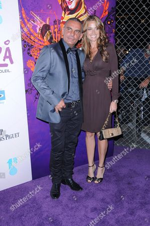 Christian Audigier and wife Ira