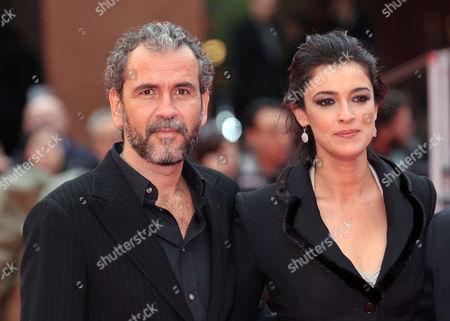 Blanca Romero and Guillermo Toledo