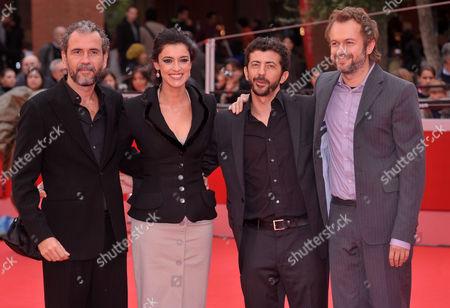 Blanca Romero, Guillermo Toledo, Tristan Ulloa and Alberto Rodriguez