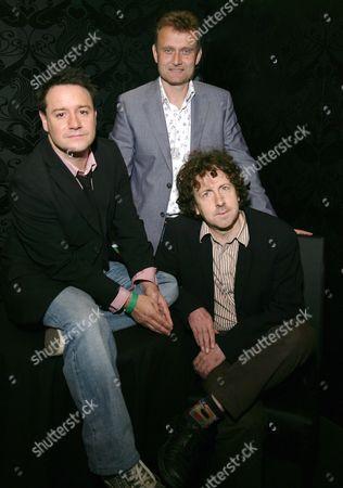 Stock Picture of Jon Holmes, Hugh Dennis and Steve Punt