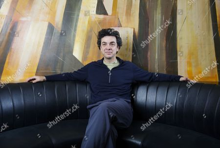 Stock Picture of American journalist and author Stephen Dubner at the One Aldwych Hotel, London