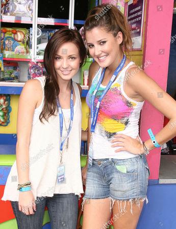 Samantha Droke and Zoe Myers