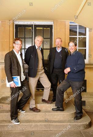 Markn Lynas, Stephen Salter, John Beddington and Jonathon Porritt.