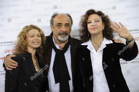 Amanda Sandrelli,  Alessandro Haber, Director Stefania Sandrelli