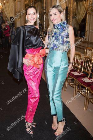 Editorial image of Hannibal Laguna wedding show, Atelier Couture fashion days, Fernando Nunez palace, Madrid, Spain - 27 Mar 2019