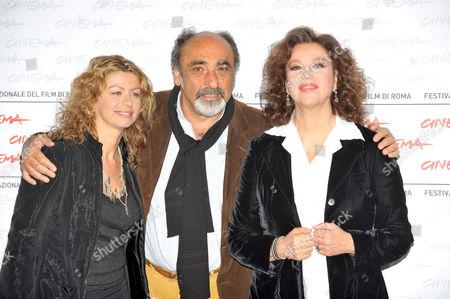 Amanda Sandrelli, Alessandro Haber and Stefania Sandrelli