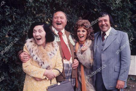 'Yus My Dear'   TV Series 2 Queenie Watts, Arthur Mullard, Valerie Walsh and Mike Reid