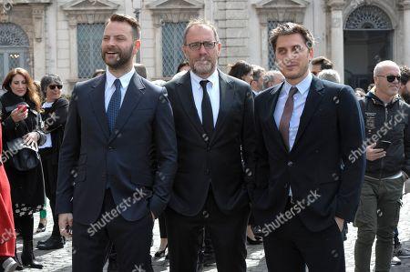 Alessandro Borghi, Valerio Mastandrea, Luca Marinelli