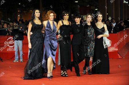 Maria Grazia Cucinotta, Lucrezia lante Della Rovere, Valeria Solarino, Donatella Maiorca, Isabella Ragonese, Giselda Volodi