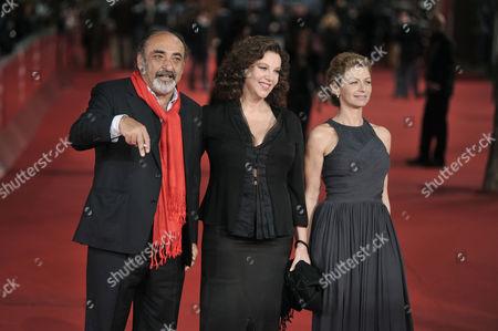 Alessandro Haber,Amanda Sandrelli and Stefania Sandrelli