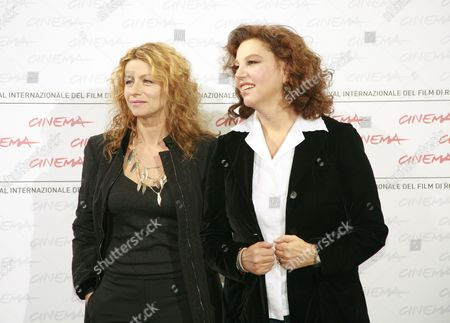 Amanda Sandrelli and Stefania Sandrelli