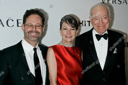 Adam Weinberg, Brooke Neidich and Leonard Lauder