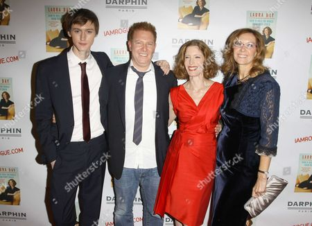 Laura Day and her son With Ryan Kavanaugh and Publisher.