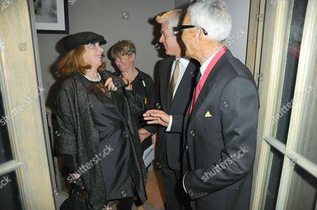 Editorial photo of Celebration lunch for Vidal Sassoon's CBE investiture, Vaporetto restaurant, London, Britain - 20 Oct 2009