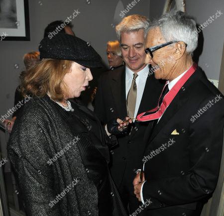 Nona Summers, John Frieda and Vidal Sassoon