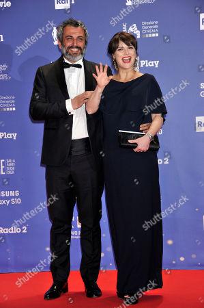 Stock Picture of Lorena Bianchetti and Bernardo De Luca