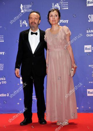 Roberto Benigni and Nicoletta Braschi