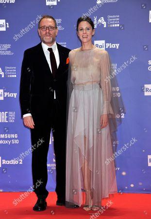 Valerio Mastandrea and Valentina Avenia