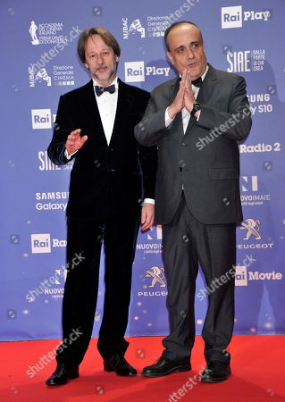 Albero Bonisoli and Luca Bergamo