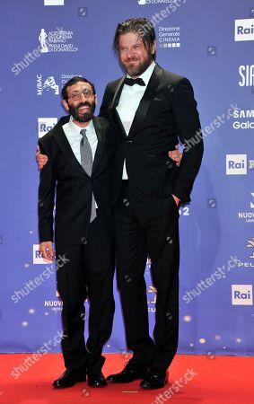 Marcello Fonte and Edoardo Pesce