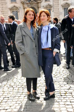 Alice Rohrwacher and Alba Rohrwacher