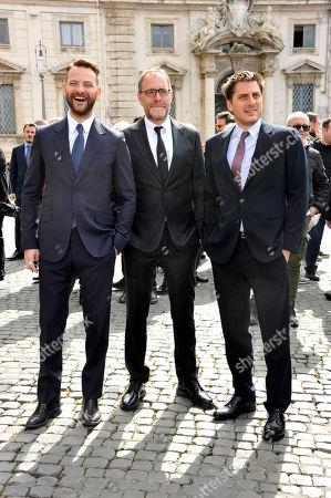 Editorial photo of David di Donatello Award ceremony, Quirinale, Rome, Italy - 27 Mar 2019