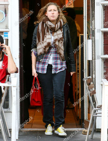 Editorial picture of Sophie Miller leaving Falafel Place in New York, America - 20 Oct 2009