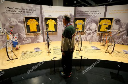 Editorial picture of Exhibition 100 years Yellow Jersey in Nice, France - 27 Mar 2019