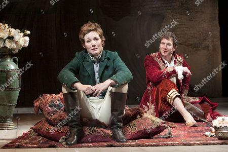 Nancy Carroll (Viola), Jo Stone-Fewings (Orsino)