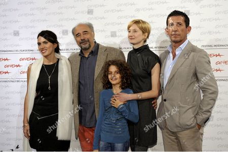 Maya Sansa, Giorgio Diritti, Alba Rohrwacher, Greta Zuccheri Montanari, Claudio Casadio