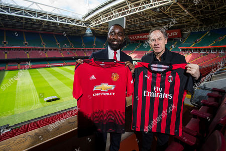 Andrew Cole and Franco Baresi