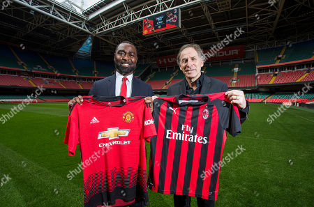 Andrew Cole and Franco Baresi.