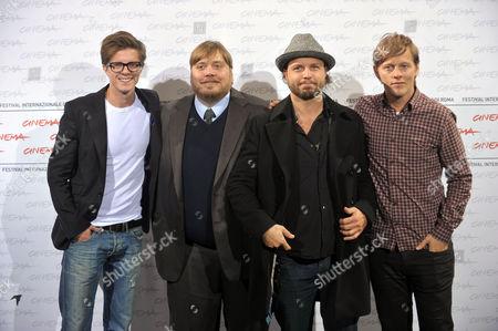 Nicolas Bro, Morten Holst, Nicolo Donato and Thure Lindhart