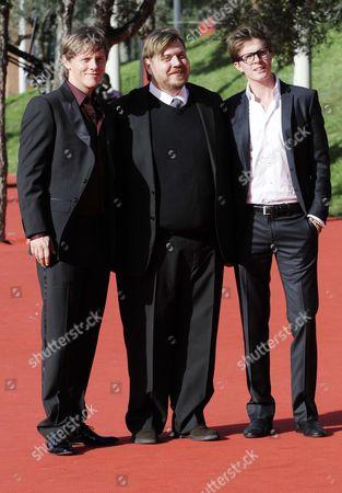 Stock Photo of Thure Lindhardt, Nicolas Bro and Morten Holst