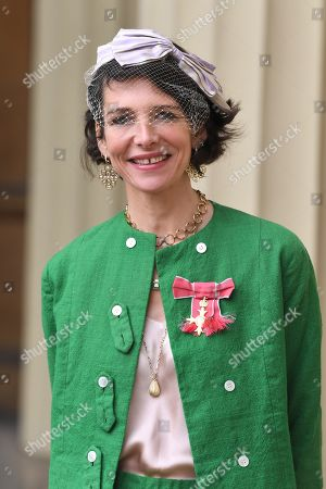 Thomasina Miers with her OBE, awarded for her services to the food industry