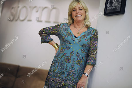 Stock Picture of Founder of Storm Model Agency, Sarah Doukas in London
