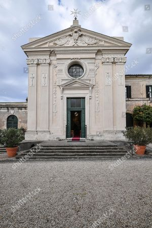 Presentation of the restoration of the Church of Santa Maria in Aventino, the only architectural work of the engraver Giovanni Battista Piranesi, Rome, Italy 27 March 2019.