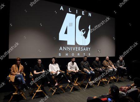 Editorial image of 'ALIEN' 40th Anniversary shorts series screening, Los Angeles, USA - 26 Mar 2019