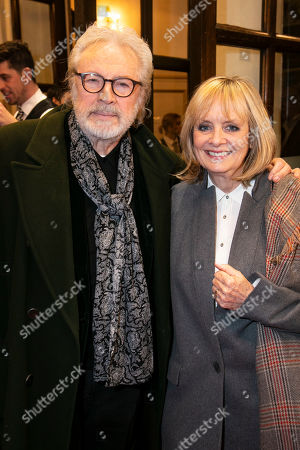 Leigh Lawson and Twiggy Lawson