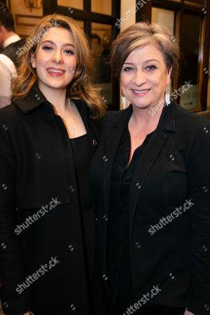 Rose Quentin and Caroline Quentin