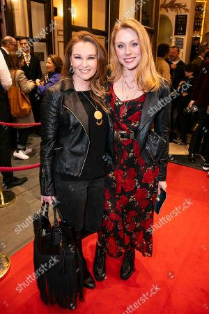 Stock Image of Lara Denning and Kelly Price
