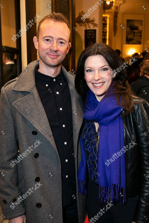 Stock Image of Richard Dempsey and Josefina Gabrielle