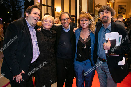 David Babani (Producer), Maria Friedman, Don Black, Sonia Friedman (Producer) and Sir Trevor Nunn
