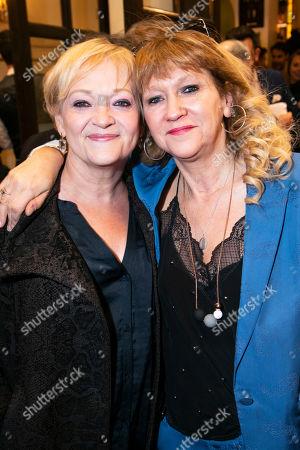 Maria Friedman and Sonia Friedman (Producer)